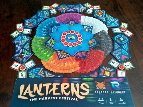 Lanterns : The Harvest Festival Board Game