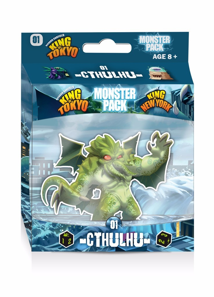 King of Tokyo/New York: Monster Pack Cthulhu