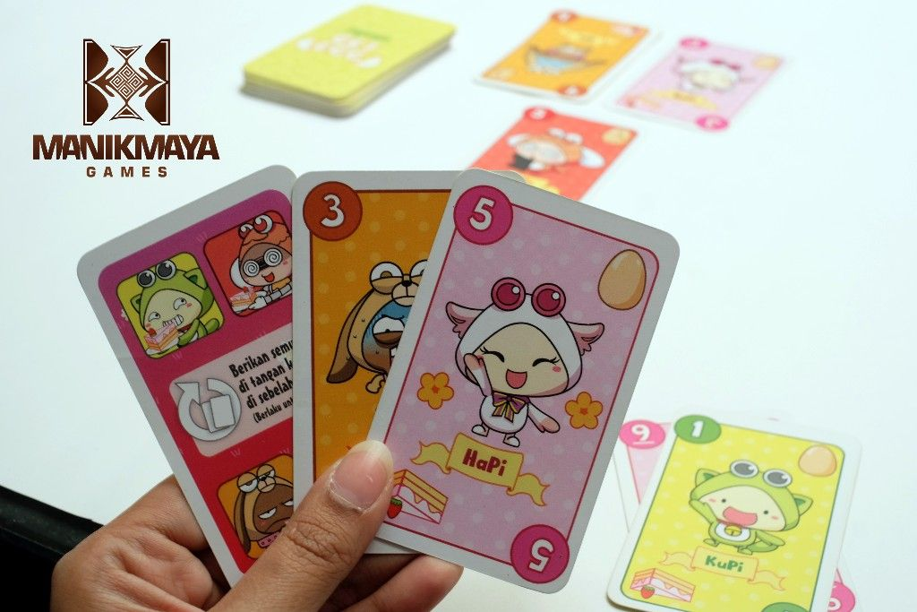 Pipoya Get Egg ! ( Original ) Board Game
