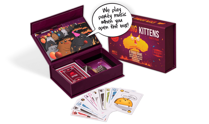 Exploding Kittens Party Edition