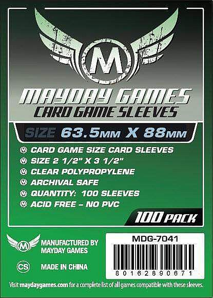 Card Game Card Sleeves (63.5x88mm) Mayday
