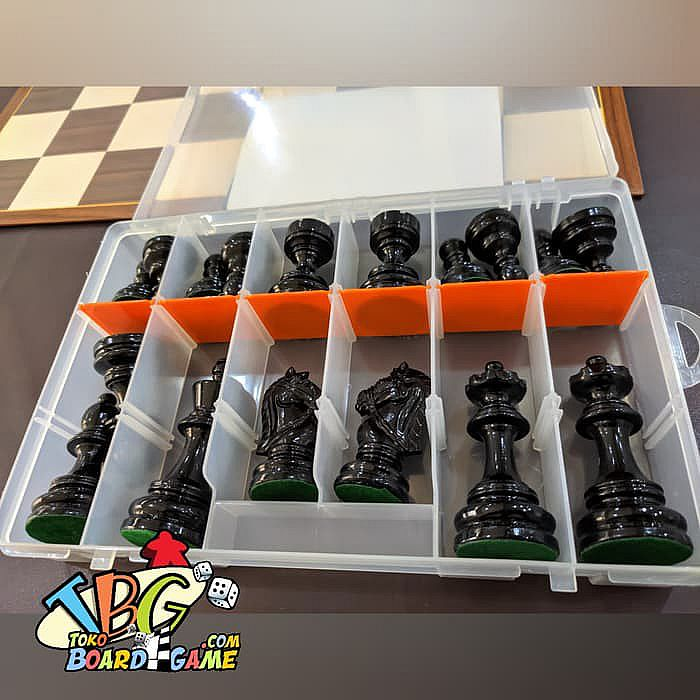 Premium Wooden Chess Set - Papan Catur