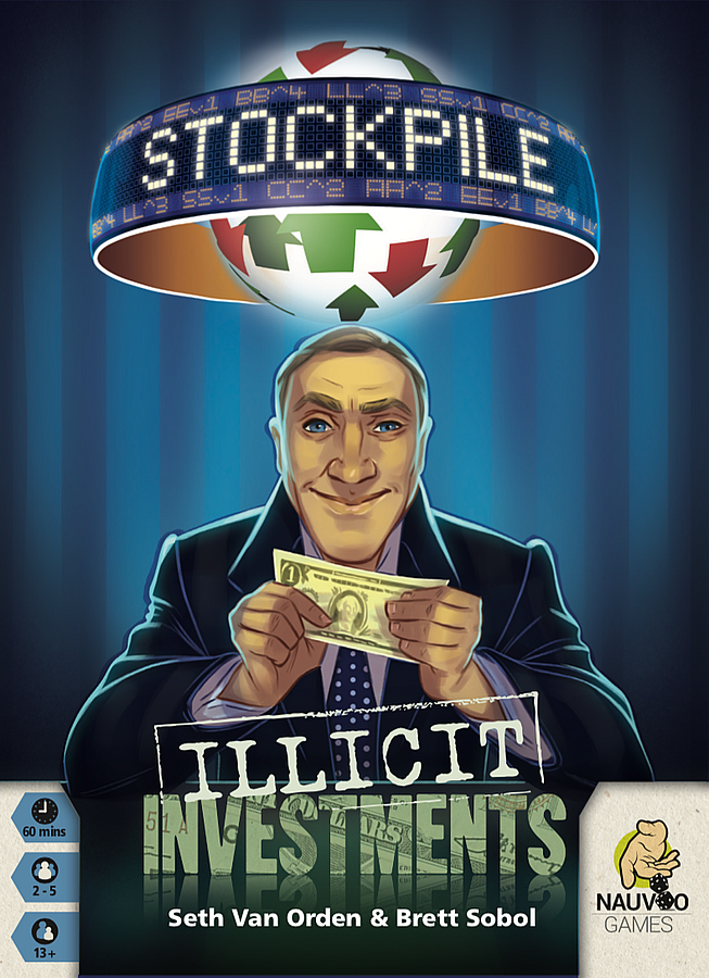 Stockpile: Illicit Investments (Original) Board Game Expansion - TBG