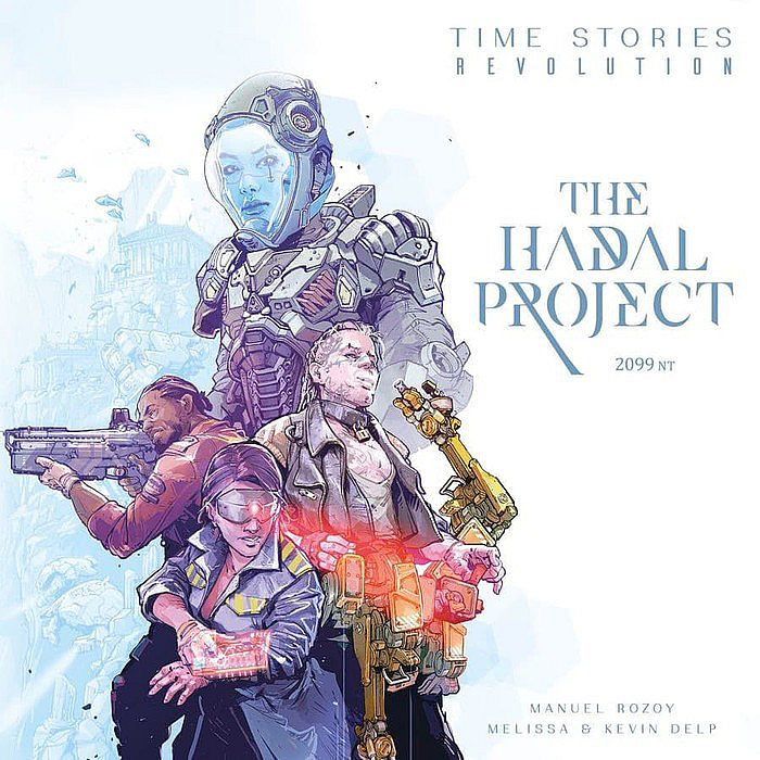 TIME Stories Revolution: The Hadal Project Board Game Expansion