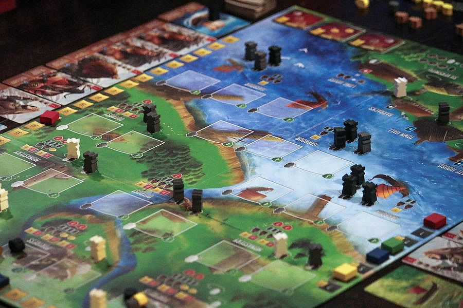 Raiders of the North Sea (Original) Board Game- TBG Board Game Store