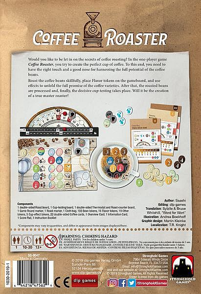 Coffee Roaster ( Original ) Board Game - TBG