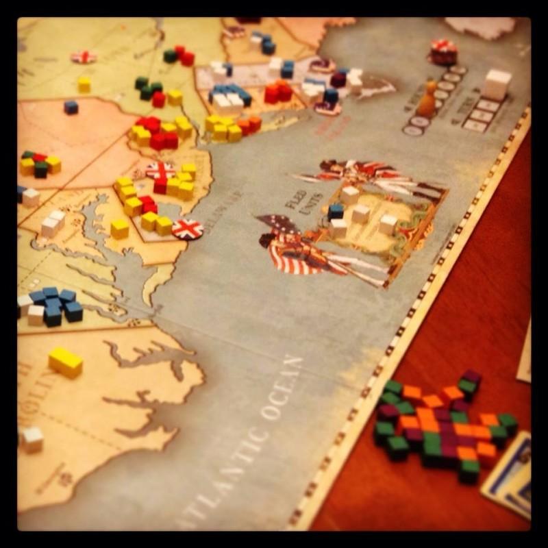 Board Game » War & Strategy Games » 1775 Rebellion • Toko