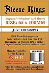 Sleeve Kings Standard USA Card Sleeves (56x87mm) - 110 Pack, SKS-8807