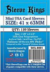 Sleeve Kings Mini USA Card Sleeves (41x63mm) - 110 Pack, -SKS-8801