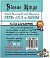 Sleeve Kings Card Game Card Sleeves (63.5x88mm) - 110 Pack, - MTG Size